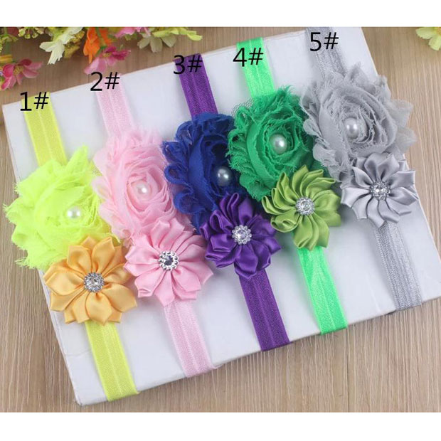 """Pick 1 Soft Stretch 1/"""" 1-1//4/"""" Headband for adding Hair Bows Flowers Appliques"""